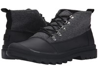 Toms Cordova Boot Black Black Wool Men's Lace Up Boots