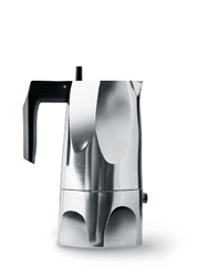 Amazon.Com Ossidiana Espresso Coffee Maker By Mario Trimarchi For Alessi 3 Cup 5.25 Oz Kitchen And Dining