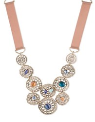 Lonna And Lilly Abalone Filigree Necklace Gold