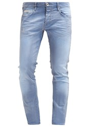 Gas Jeans Gas Mitch Slim Fit Jeans Blue Light Blue