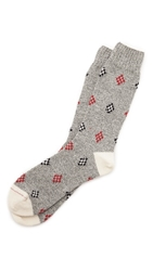 Mr. Gray Cowichan Wool Socks East Dane