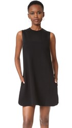 Victoria Beckham Layered '60S Shift Dress Black