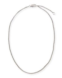 Konstantino Small Sterling Silver Rolo Chain 18