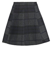 Only Onlkim Mini Skirt Dark Grey Melange Mottled Dark Grey