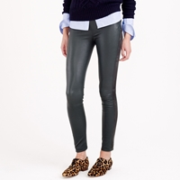 J.Crew Collection Tuxedo Leather Leggings