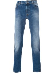 Kenzo Relaxed Slim Fit Jeans Blue