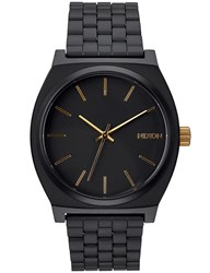 Nixon Time Teller With Gold Sunray Dial