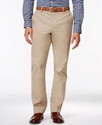 Tasso Elba Men's Regular Fit Chino Pants Only At Macy's Washed Khaki