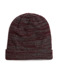 The Men's Store At Bloomingdale's Wool Cashmere Slouch Beanie Deep Wine Grey