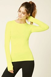 Forever 21 Active Seamless Top