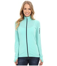Icebreaker Terra Long Sleeve Zip Tasman Tasman Panther Women's Clothing Green