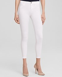 James Jeans Twiggy Ankle Legging In White Clean