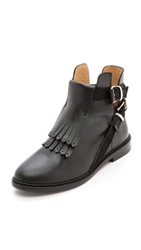 Thakoon Patti Booties Black