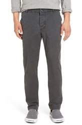 James Perse Men's 'Modern' Slim Fit Garment Dyed Chinos