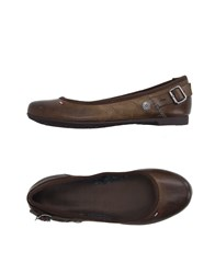 Tommy Hilfiger Denim Footwear Ballet Flats Women Brown