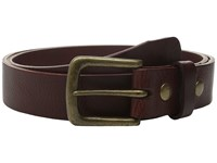 Will Leather Goods 34Mm Luxe Belt W Snap Closure Cognac Belts Tan
