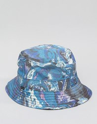 Globe Walker Bucket Hat Navy