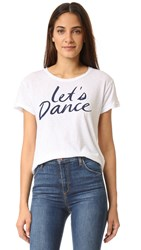 Sundry Lets Dance Tee White