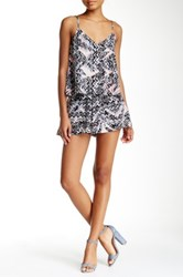 Necessary Objects Printed Flare Short Multi