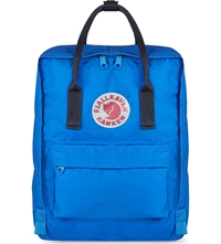 Fjall Raven Kanken Canvas Backpack Un Blue Navy