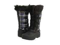 Tundra Boots Diana Black Purple Women's Cold Weather Boots Multi
