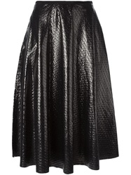 Golden Goose Deluxe Brand Midi Circle Skirt Black