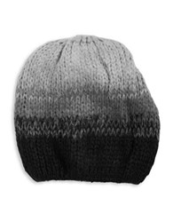 Wooden Ships Ombre Wool Blend Knit Hat Black