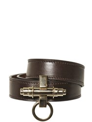 Givenchy Obsedia Wrap Around Leather Bracelet