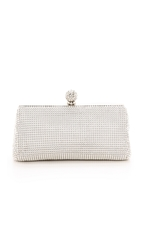 Whiting And Davis Crystal Ball Clutch Silver
