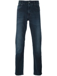 7 For All Mankind Regular Jeans Blue