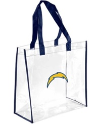 Forever Collectibles San Diego Chargers Clear Tote Bag