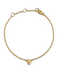 Jennifer Zeuner Jewelry Jennifer Zeuner Mia Mini Heart Bracelet Gold