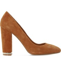 Dune Adriane Suede Courts Tan Suede