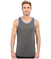 Travis Mathew Red Frank The Tank Heather Dark Shadow Men's Sleeveless Gray