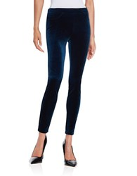 Blank Nyc Velvet Leggings Blue