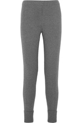 Rag And Bone Charlize Cashmere And Wool Blend Track Pants Gray