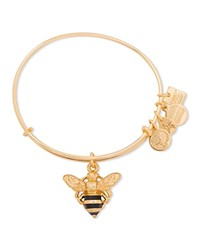 Alex And Ani Bumble Bee Expandable Wire Bangle Charity By Design Collection Gold