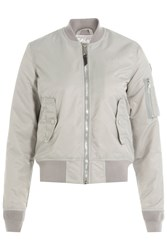 Schott Nyc Flight Jacket Grey