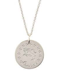 Emily And Ashley Sterling Silver Astrology Charm Necklace
