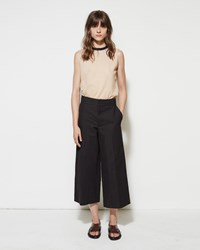 Marni Cropped Linen Trouser