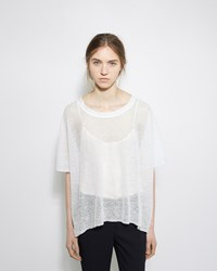 Dua An Easy Linen Tee White
