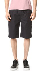Our Legacy Relaxed Cotton Shorts Navy