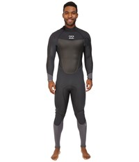 Billabong 403 Absolute X Back Zip Wetsuit Graphite Men's Wetsuits One Piece Gray