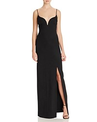 Nicole Miller Sweetheart Gown Black