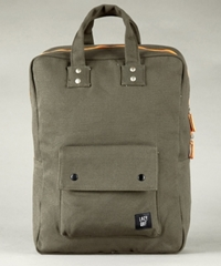 Lazy Oaf Handle Dis Rucksack Khaki