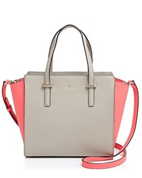 Kate Spade New York Satchel Cedar Street Small Hayden Colorblock Clock Tower Flo Geranium