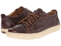 Trask Beck Bourbon American Bison Men's Lace Up Casual Shoes Brown