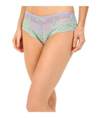 Wacoal Embrace Lace Tanga Very Violet Bamboo Women's Underwear Gray