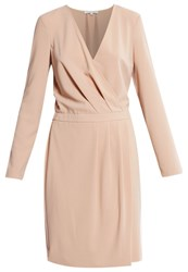 Patrizia Pepe Summer Dress Camel Beige