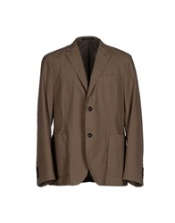 Oscar Jacobson Suits And Jackets Blazers Men Khaki
